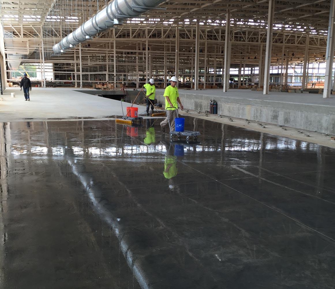Lou Sobh Honda >> Acid Staining, Hardwood Floor Refinshing | Commercial, Industrial, & Retail Flooring ...